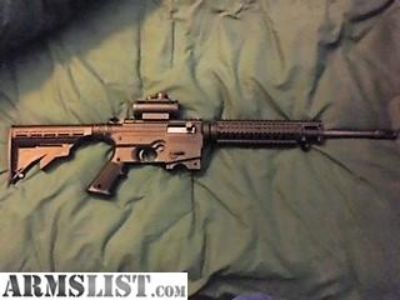 For Sale: Mossberg 715T AR-22 with Red Dot