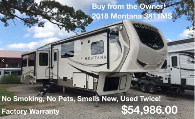Buy from the Owner - 2018 Keystone Montana 3811MS