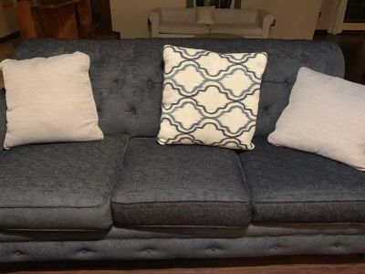 Gorgeous Sofa & Wingback Chair With Tags (Pillows Incl)