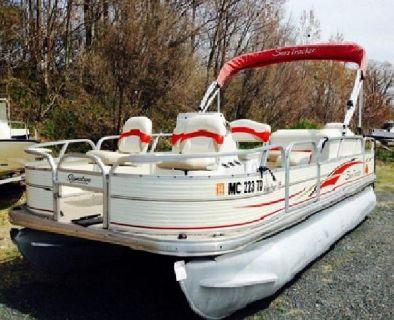 "*~sKGqA8A 2008 Tracker Bass Buggy 19'7"" Pontoon Boat .8*Mf5BGO"