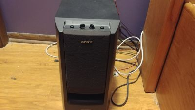 Rare Sony SA-W303 Active Super Woofer