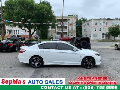 2016 Honda ACCORD SEDAN 4dr I4 CVT Sport (White Orchid Pearl)