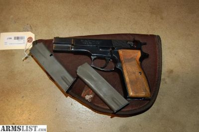 For Sale: Used FEG Hungary 9MM HI-Power Clone 80 ICN6817