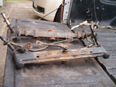 Riding Lawnmower Front Axels -