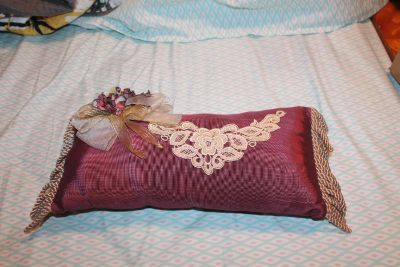 $5 Victorian style oblong pillow