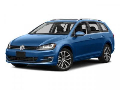 2015 Volkswagen Golf SportWagen TDI SE (Silver)