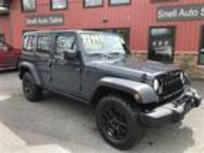Used 2016 JEEP WRANGLER UNLIMITED For Sale