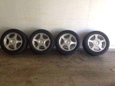 $300 OBO 2003 Ford Mustang tire and wheel set
