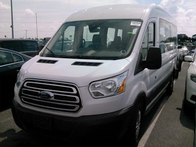 "2017 Ford Transit Wagon T-350 148"" Med Roof XL Sliding (Oxford White)"