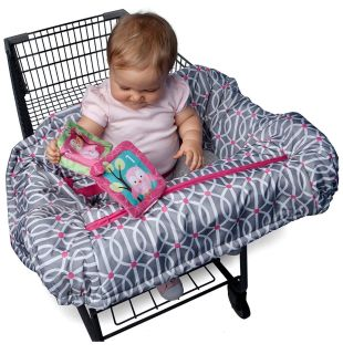 Boppy Shopping Cart Cover && Restaurant HighChair Cover.