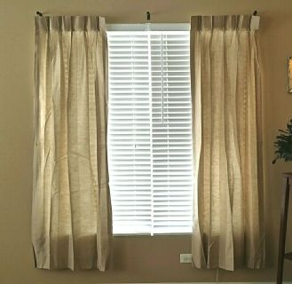 "J.C. PENNEY ""HOME COLLECTION"" CURTAINS"