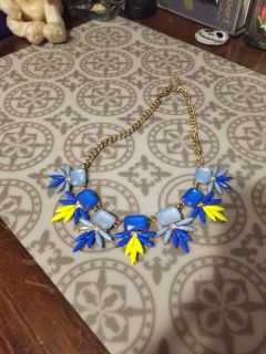 Super cute and bright chunky necklace