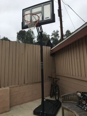 Basketball Hoop + Ball