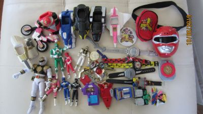 Massive Power Ranger Collection