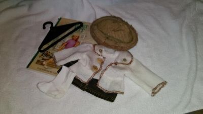 American girl outfit and book
