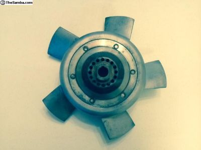 Porsche 911 Engine Cooling Fan 5 Blade Nice