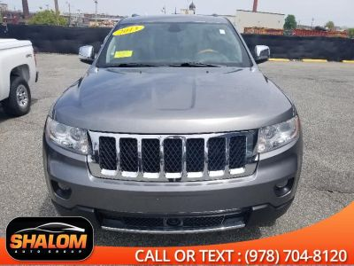 2013 Jeep Grand Cherokee Overland (Mineral Gray Metallic)