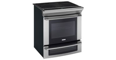 "Electrolux 30"" Electric Slide In Range Convection Self Clean 2nd Oven"