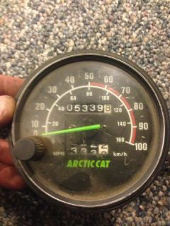 Purchase ARCTIC CAT ZR 580 OEM Speedometer motorcycle in Omro, Wisconsin, United States, for US $30.00
