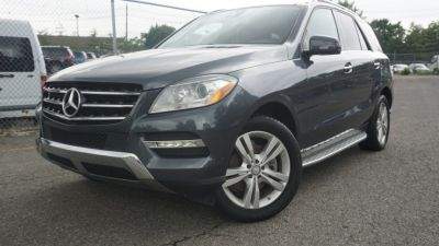 2015 Mercedes-Benz M-Class 4MATIC 4dr ML350 (Gray)