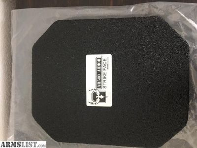 For Sale: AR500 level III+ LIGHTWEIGHT SQUARE BACKPLATE W/ PAXCON COATING