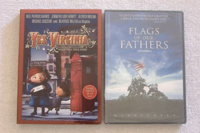 *New* FLAGS OF OUR FATHERS & YES VIRGINIA Movies