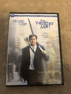The Weather Man DVD. **SWAP ONLY**