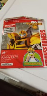 Transformers pop out color and play