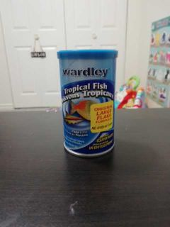 Fish food for tropical fish