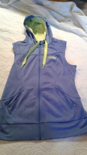 Women's large the North Face hooded vest