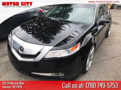 2011 Acura TL w/ Technology Package (Crystal Black Pearl)