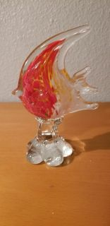 Colorful Glass Fish