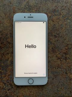 AT&T iPhone 6S rose gold