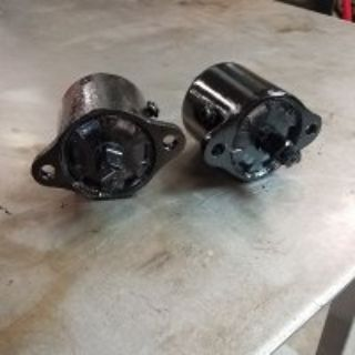 Rebuilt 35-36 rear Houdaille shocks