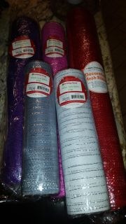 NWT Mesh ribbon, paid $8 each, selling each one for $4