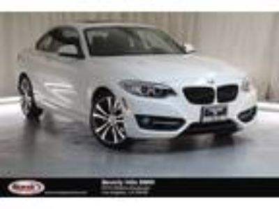 Used 2016 BMW 2 Series White, 44.7K miles