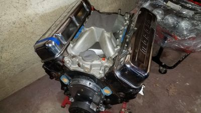 BIG BLOCK CHEVY RACE ENGINE