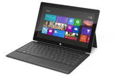 MICROSOFT SURFACE RT 32GB AND KEYBOARD CASE reduced