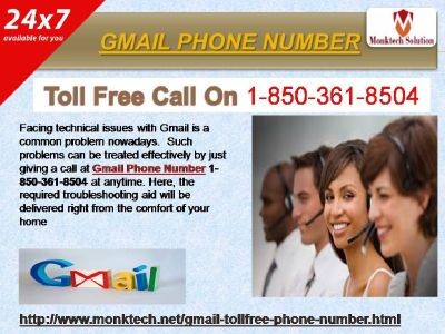 Gmail Phone Number 1-850-361-8504 A Solid Assistance