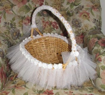 Wedding Bubble or Card Basket