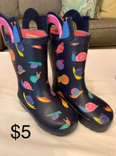 Cat & Jack Rainboot