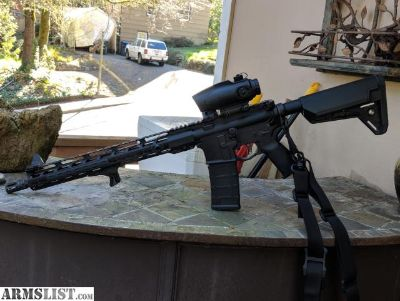 For Sale: Stonefire Arms AR-15 with customizations for sale/trade