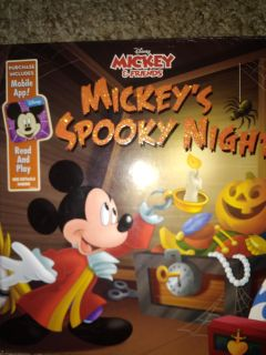 Large mickeys spooky night. Instructions for download fir ipad n iphone in back
