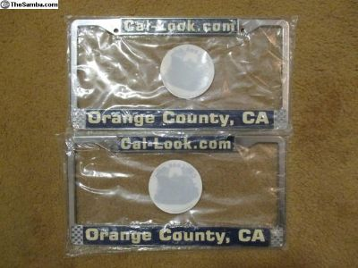 Cal-look.com license plate frames and stickers