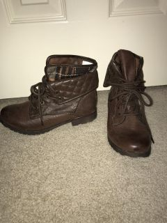 Hard Candy Combat Boots