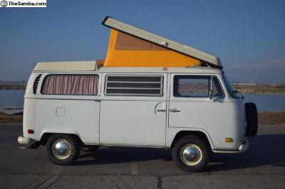 1971 Westfalia Camper Bus, Mostly Original Paint!