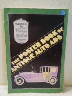 The Poster Book of Antique Auto Ads