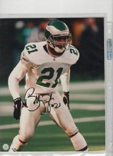 $20 Bobby Taylor Philadelphia Eagles Autographed Photo