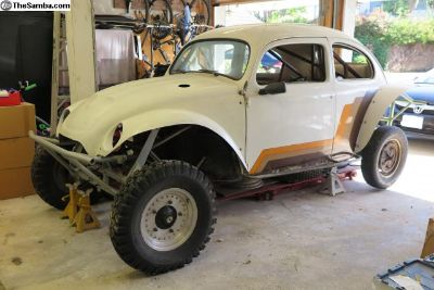 1957 Oval Window Baja Bug Project