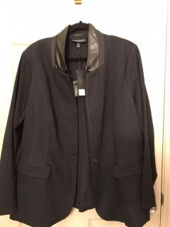 The Bryant blazer in black plus size 22 NWT